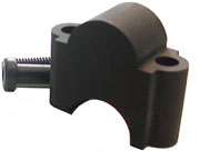 Lenkererhöhung 28 mm Lenker Black