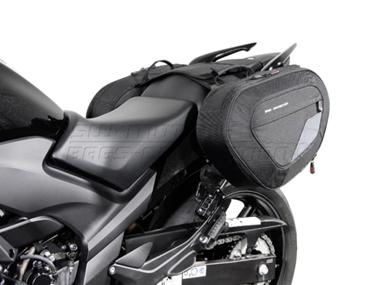Honda CBF 500 - Blace Satteltaschen- Set