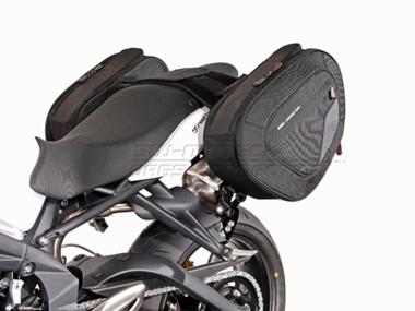Triumph Street Triple RX - Blace Satteltaschen- Set