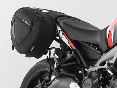 Yamaha MT 07 / Tracer - Blace Satteltaschen- Set