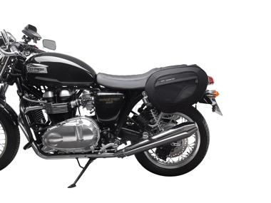 Triumph Thruxton 1200 - Blace Satteltaschen- Set