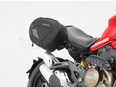 Ducati Monster 821 / Monster 1200 S - Blaze H Satteltaschen- Set
