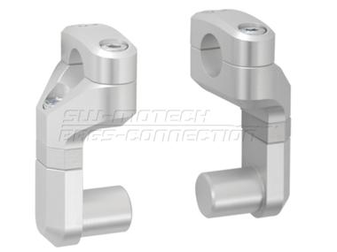 Vario Lenkerverlegung 28 mm Lenker Silber